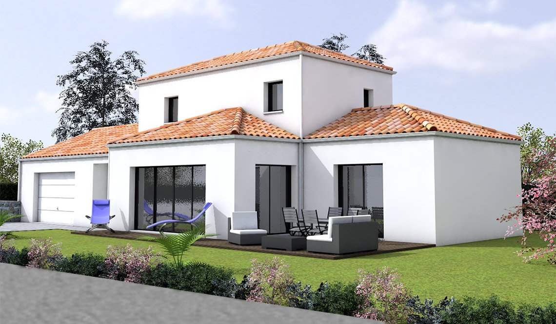 maison traditionnelle 107m2 cote